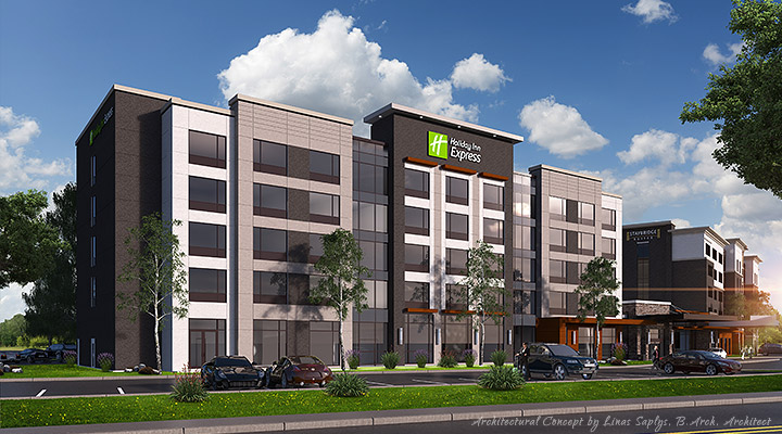 Holiday Inn Express & Staybridge - Red Deer, Alberta