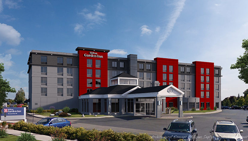 Hilton Garden Inn Addition Oakville Ontario Api Consultants