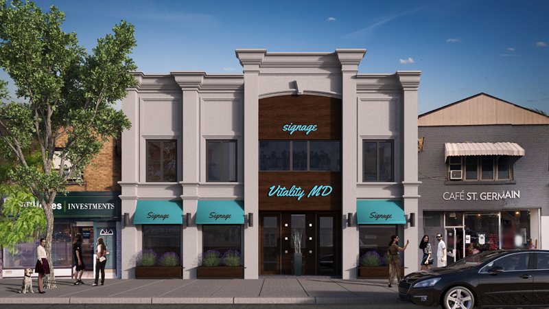 1771 Avenue Rd - Vitality MD Office