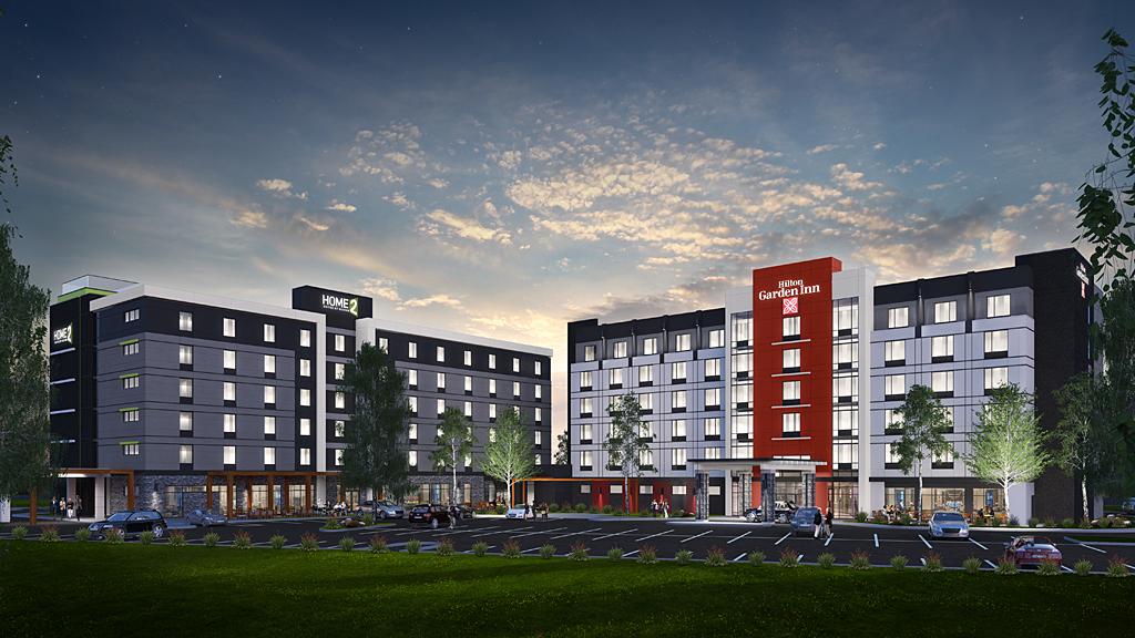 Brampton Hilton Garden Inn & Home 2