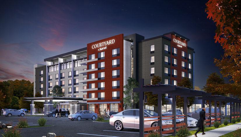 Oakville Marriott Courtyard