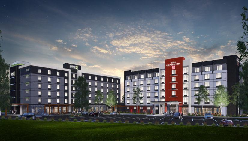 Hilton Garden Inn and Home 2 - Brampton - 1