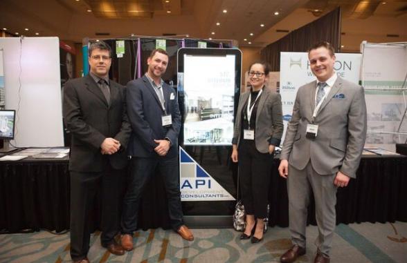 API Team with APII's Calgary affiliate - MTa Architects Chau Tran -Principal Interior Design