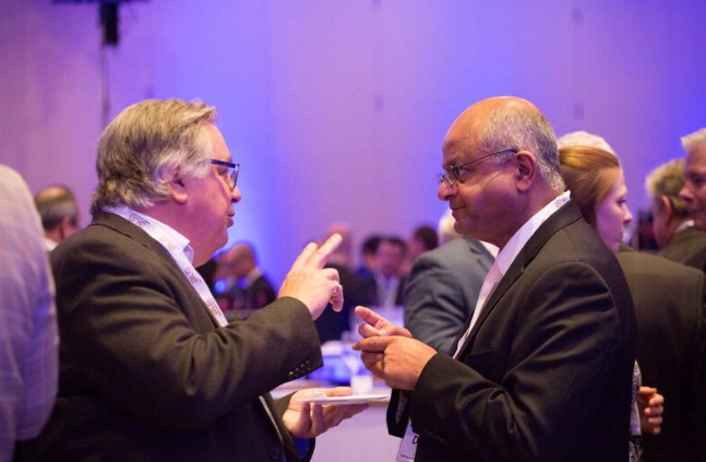 Lin Saplys & Derek Lobo Discussing Hotel Strategies