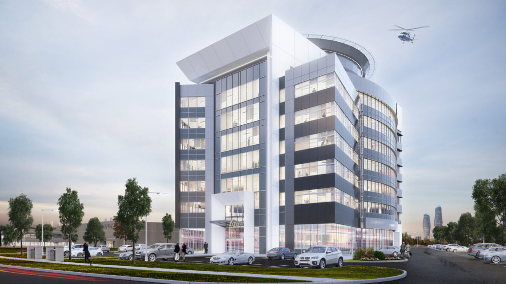 Mississauga, ON - Corporate Office with Helipad