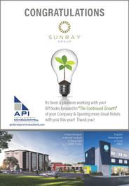 API Sunray Congrats AD