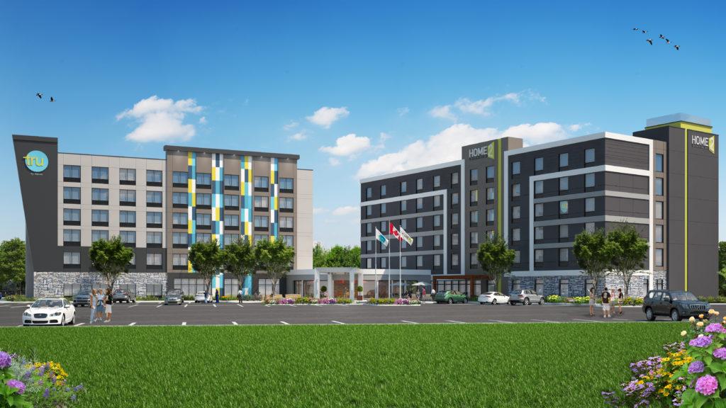 Ajax, Hilton Combo TRU & Home2