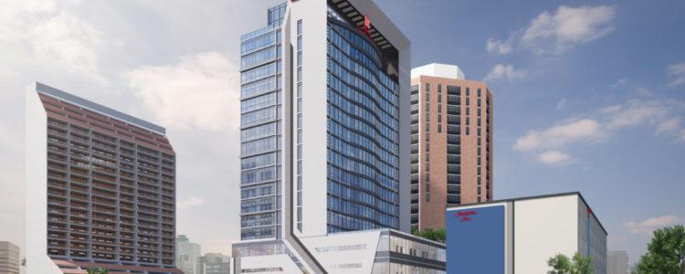Winnipeg, MB - Hilton Garden Inn Tower