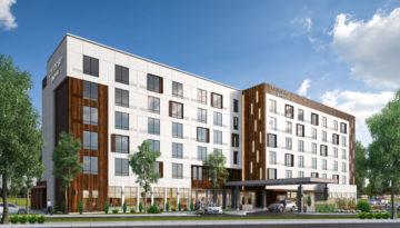 Langley B.C - Marriott Courtyard_Wood Panel_Vertical Vers.