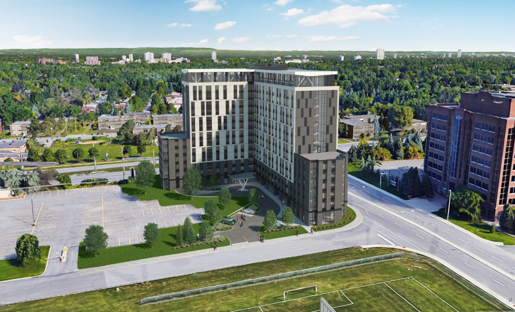 sS18-012 Ottawa Student Residence Landscape Wide View 19-01-04